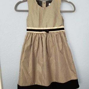 Other - Black and Gold Special Occasion Girl's Dress